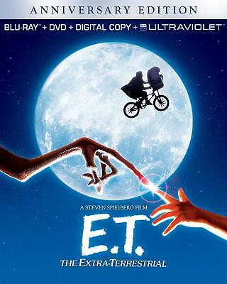 E.T. The Extra-Terrestrial (1982) Blu-Ray + DVD BRAND NEW Free Ship