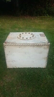 Old Galvanised Water Tank Garden Planter