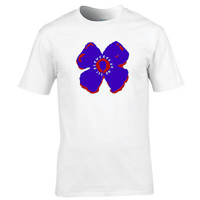 Brand New Flowered Up T Shirt - Cult Indie Dance Band tshirt S - XXL Stone Roses