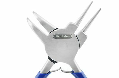 Beadalon MultiPliers Bent Chain Nose & Round Nose Jewelry Wire Pliers