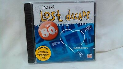 Another Lost Decade Romance The 80s Time Life Music NEW                   cd4517