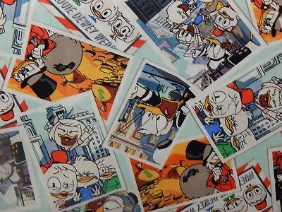 Donald Duck, Nephews, and Uncle Scrooged Fabric 100% Cotton ( No Micky Mouse)