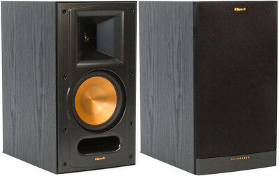 New Klipsch RB 61 II Reference Series Bookshelf Speaker Set Black Sold As Pair