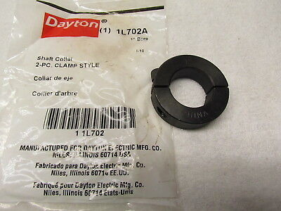"Dayton Shaft Collar 1L702, Clamp Collar Style, 1"" Bore"