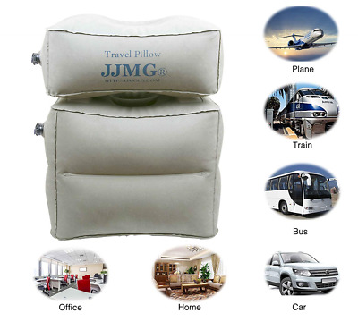 Inflatable Air Cushion Neck Comfortable Support Pillow Travel Nap Pillow