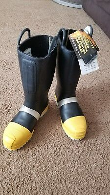 Thorogood fireman  turnout boots size 12 1/2w new