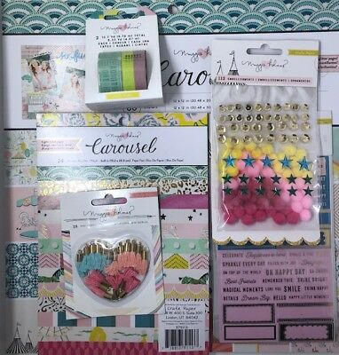 Maggie Holmes Carousel Crate Paper Bundle