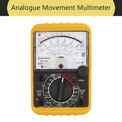 NEW Analogue Movement Portable Digital Multimeter QM1020 AU FREE SHIPPING