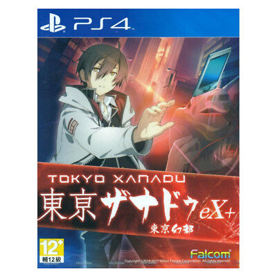 TOKYO XANADU EX+ Sony Playstation PS4 2017 Chinese Pre-Owned
