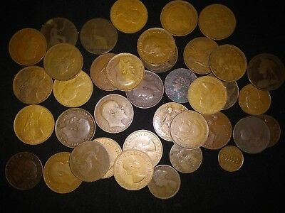 39 Britannia - Beautiful Historical Coins 1827 To 1967 Half Penny & One Penny