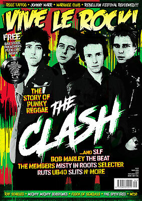 VIVE LE ROCK ISSUE 56 - Sept. 2018 -Clash, Marquee, Slits, SLF, Ruts *SALE PRICE