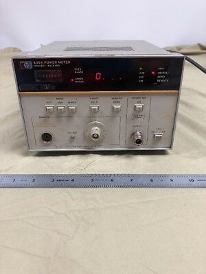 HP 436A Power Meter 100kHz-110GHz  @F1