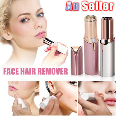 Women Hair Shaver Touch Hair Epilator Finishing Remover Flawless Painless Facial