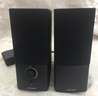 Used Bose Companion 2 Series Iii Black Computer Speaker System New Version 3