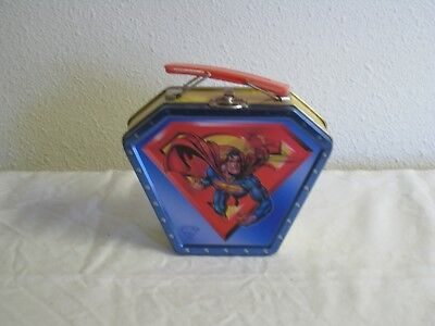 Collectible Superman Small Metal Lunch Box with Lenticular Image (?)