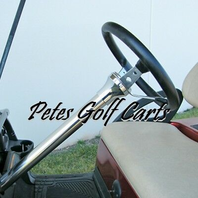 Club Car Golf Cart Stainless Steel Steering Column Cover Precedent 2004 and Up