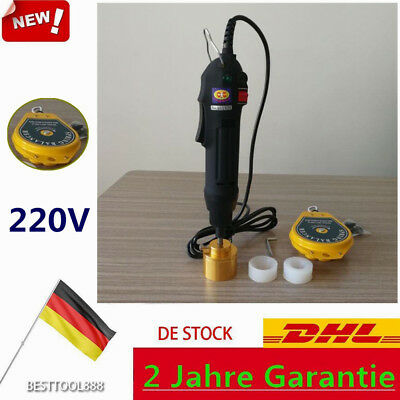 Elektrische Hand-Held Screw Capper Bottle Capping Machine Verschließmaschine DE