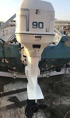 1997 JOHNSON 90 hp Outboard Boat Motor Engine Evinrude 20