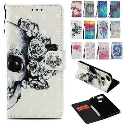 Magnetic pu Leather Removable Wallet Flip Card Phone Case Cover For ZTE Blade V9