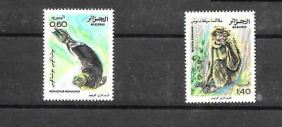 ALGERIA 1981 NATURE PROTECTION SET SG800-801 um CAT £2.40 (1)