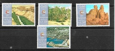 ALGERIA 1980 WORLD TOURISM CONFERENCE MANILA SET SG774-777umm CAT £4.40