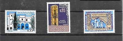 ALGERIA 1967 MUSULMAN ART SET SG 478-480 umm CAT £3.20 (1)