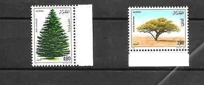 ALGERIA 1983 WORLD TREES DAY SET SG836,837 umm CAT £2.80