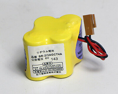 BR-2/3AGCT4A 6V 4400mAh Battery Lithium Battery For Fanuc System Machine Tools