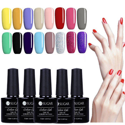 6/7.5ml BORN PRETTY Vernis à Ongles Gel Polish Nail Art UV Manucure UR SUGAR DIY
