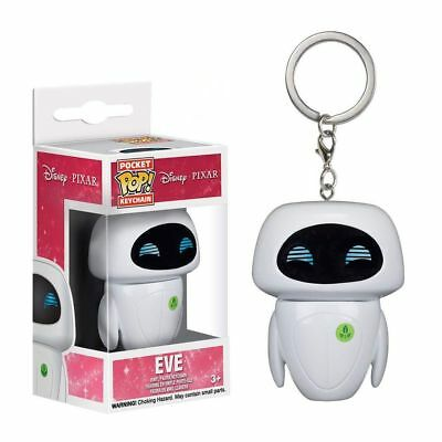 Collection Keychain Keyring Wall-E Eve Mini Action Figure Toy Disney Robot Set