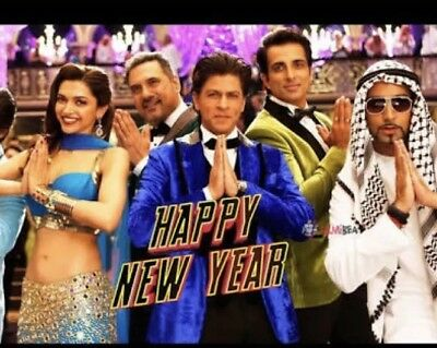 Happy New Year,Hindi,Bollywood Movie,Dvd,Hi Quality Picture&Sound,Shah Rukh Khan