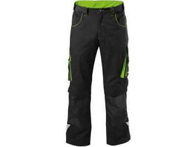 FORTIS Herrenbundhose 24 black-lime green Gr. 58