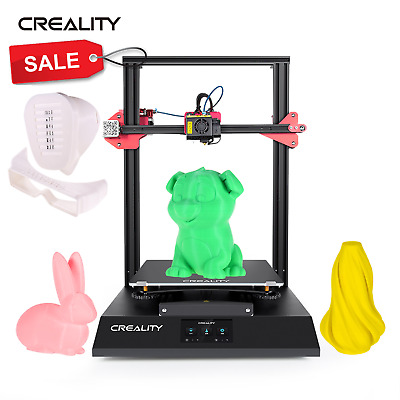 Creality Ender 3 Pro 3D Printer Magnetic Hot Bed Sticker MeanWell Power Supply