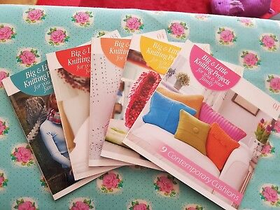 Hachette Big & little knits projects book.( editions 1-39 available)