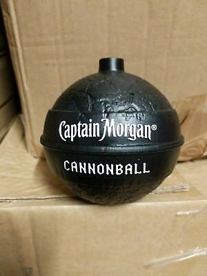 Captain Morgan Rum Cannonball Drinking Spirit Pirate Bundaberg Party