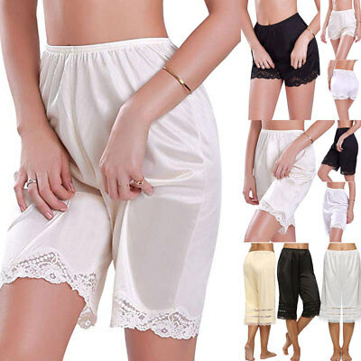 AU Lady Silk Knit Briefs Underwear Pettipants French Knickers Breathable Soft