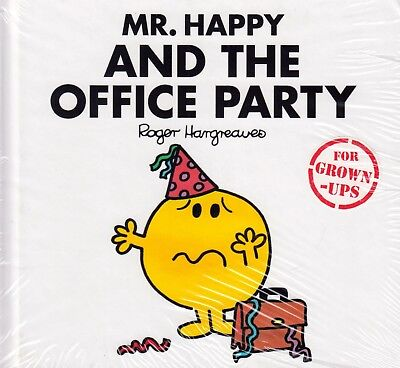 Mr. Happy And The Office Party by Roger Hargreaves BRAND NEW BOOK (H/B 2017)