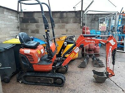 2015 Kubota K008-3 Micro Digger PRICE INCLUDES VAT