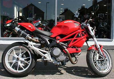 2011 Ducati MONSTER 1100 WITH EXTRAS at Teasdale Motorcycles, Yorkshire