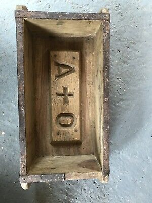 Authentic Wooden Brick Mold