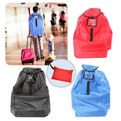 Durable Baby Child Car Seat Travel Gate Check Bag for Airplane Protective Pouch
