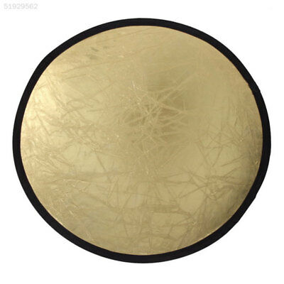 C5E9 80cm 2-In-1 Studio Light Mulit Photo Collapsible Disc Reflect Reflector