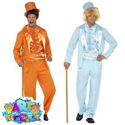 Mens 90s Dumb and Dumber Costume Adult Tuxedo Suit 90s Fancy Dress Outfit