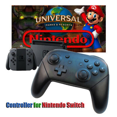 Bluetooth Wireless Pro Game Controller Handle For Nintendo Switch 600mAh Black