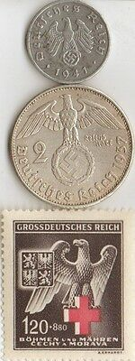 - *wwii  -  *us  and   *german      coins  and  stamps