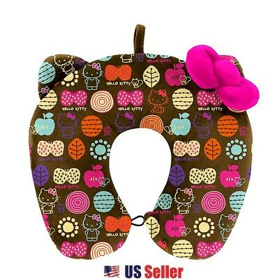 Sanrio Hello Kitty Neck Cushion Travel Pillow : Travel Kitty