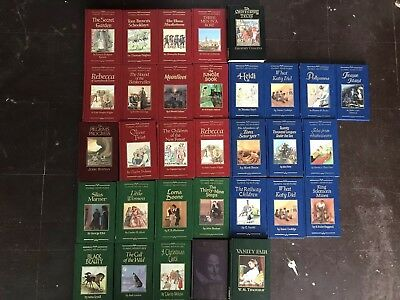 Classic Adventure Hardback Books Collection Fabbri (Buy It Now For 1 Book!)