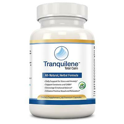 Tranquilene Total Calm by Tranquility Labs - Stress & Anxiety Relief - All