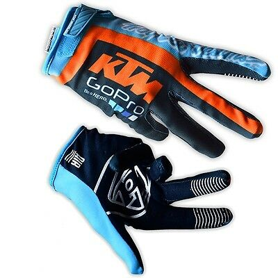 Troy Lee Designs GP AIR KTM Team Go Pro TLD Enduro Motocross Motorbike Gloves