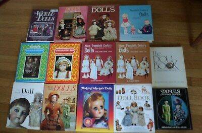 33 Doll Reference Books Guide Antique Vintage Modern Hardback Softcover